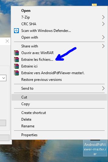 Vous choisissez ensuite le lieu d'extraction de fichiers, il est conseillé d'extraire les fichiers sur le même chemin de fichier compressé, puis basé sur ces deux options en vérifiant, et si vous avez besoin du programme pour vous montrer le contenu du fichier zip affiché puis appuyez sur OK ou sur accepter.