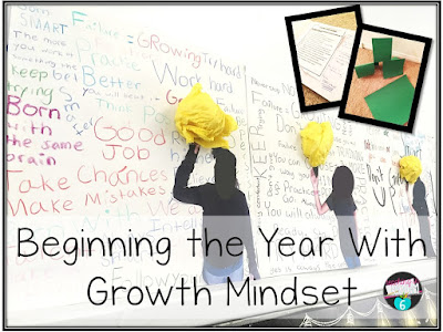 Using growth mindset in your upper elementary classroom.