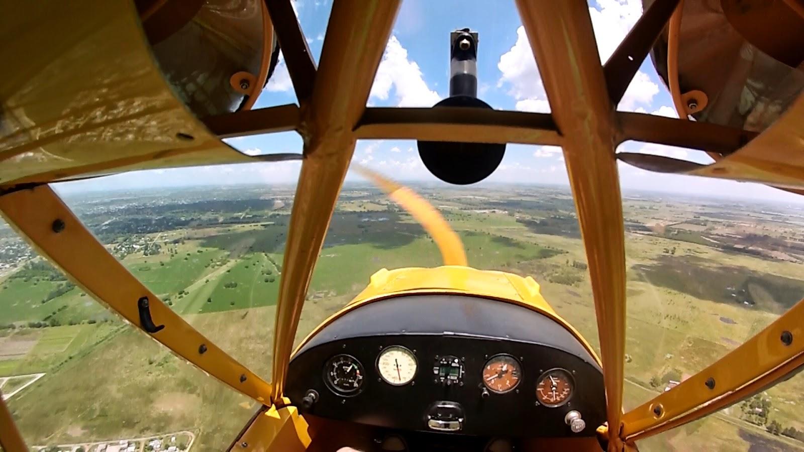 Piper PA11: Caño, tela y un golpe contra el piso...