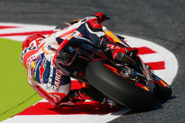 Hasil Kualifikasi MotoGP Catalunya, Spanyol : Marquez Pole