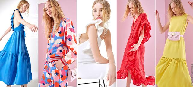 MODA 2019 - Vestidos, faldas, blusas, pantalones. Ropa de mujer 2019 │ Moda primavera verano 2019.