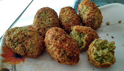 OIL FREE FALAFEL MADE IN AIRFRYER