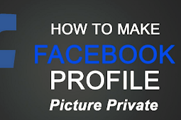 How Can I Put My Profile Pictures On Private Facebook 2019