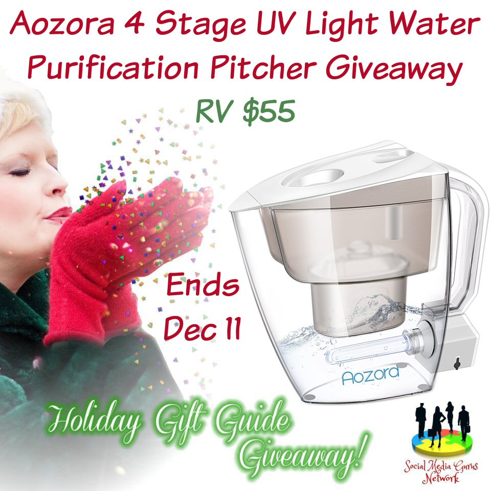 Aozora 4 Stage UV Light Water Purification Pitcher