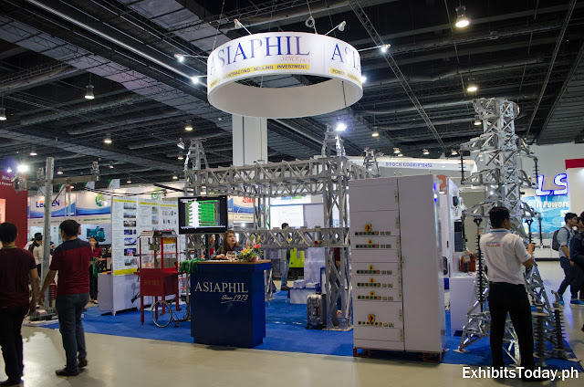 Asiaphil trade show booth