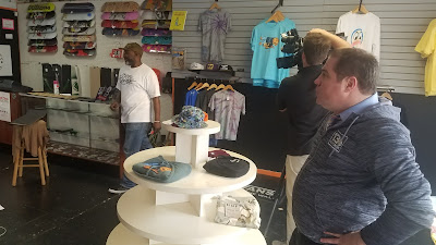 Hard Times Skate Shop, Toney Herndon Interviewed by WVEC 13