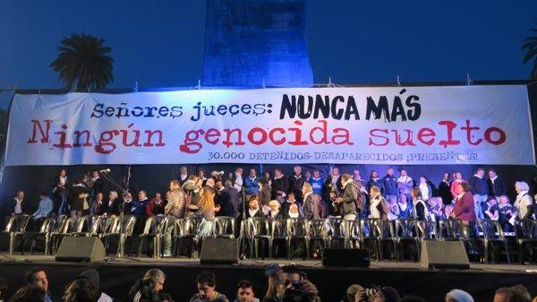 Liberan a represor de la dictadura Argentina por beneficio 2x1