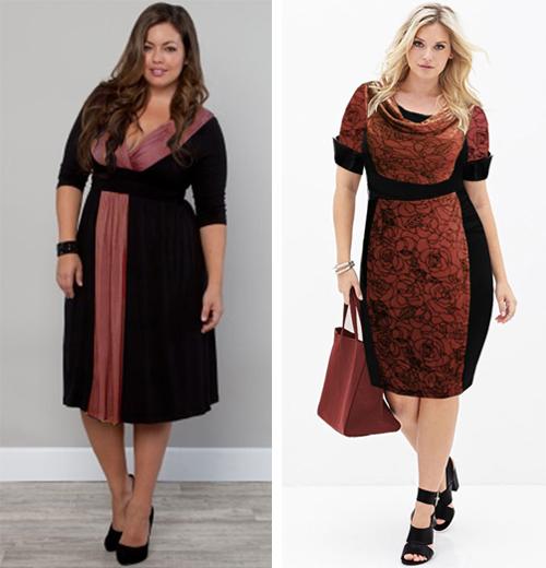 model baju kerja wanita gemuk