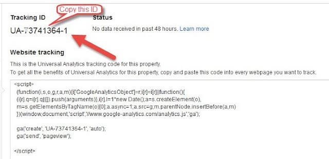 Blog Ko Google analytic Account Se Kaise Jode