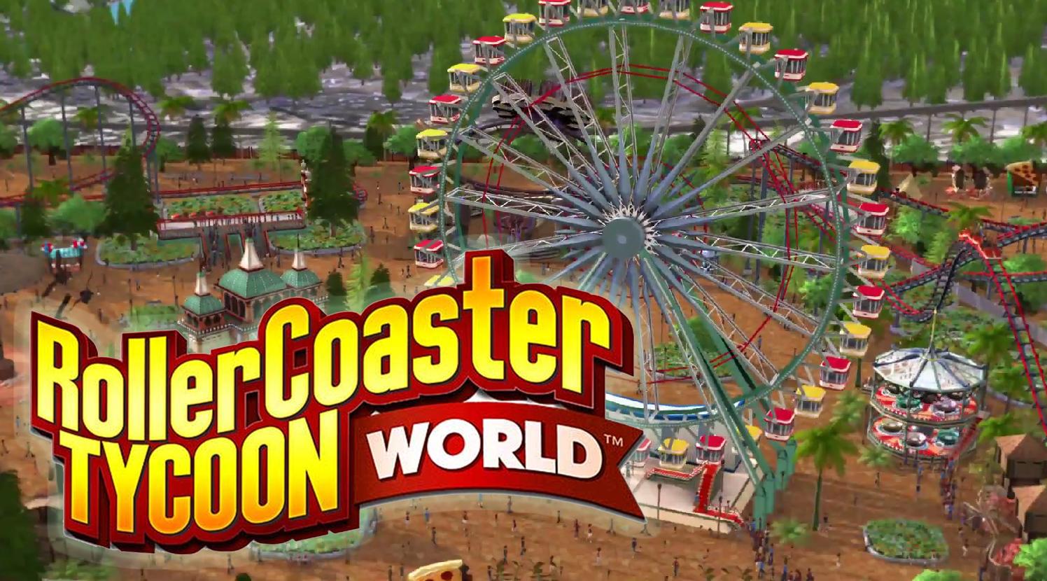 Atari released Roller coaster Tycoon world Today