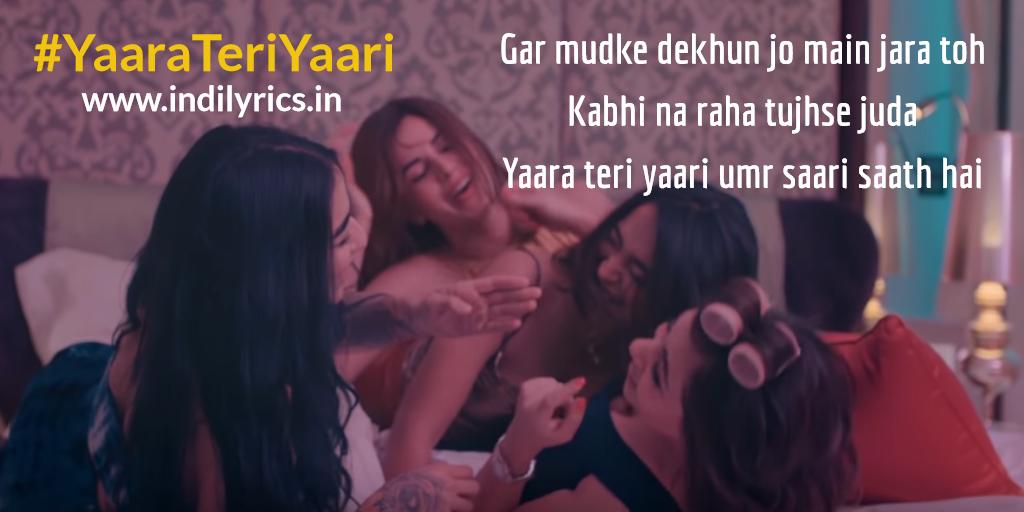 Yaara Teri Yaari | Darshan Raval | Full Song Lyrics with English