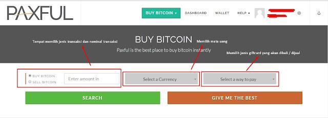 Tampilan Web Paxful - Berita Bitcoin