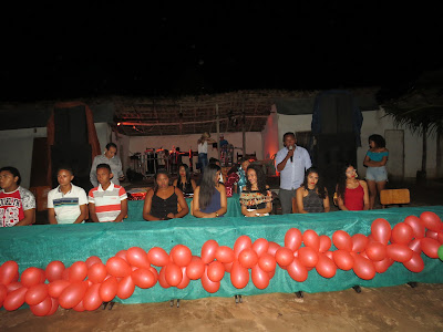 EDUCAÇÃO: CONFIRA A FESTA DE POSSE DO GRÊMIO ESTUDANTIL ANEXO I POVOADO CASSIMIRO EM BOM JARDIM