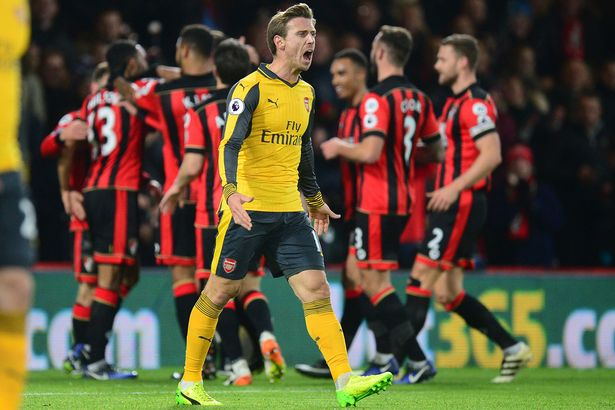 Bournemouth 3 x 3 Arsenal: Paradoxo