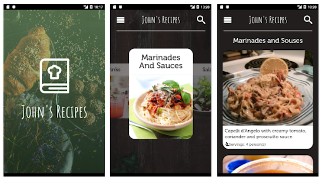 Youth apps johns recipes app has been reviewed by 35 users and 11 users have rated 5 stars johns recipes app size varies from device to device and can be installed forumfinder Gallery
