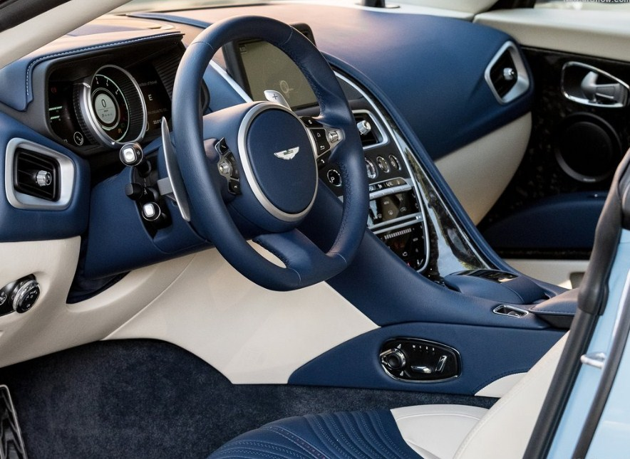 2017 aston martin db11 frosted glass blue first look ~ car showstopper
