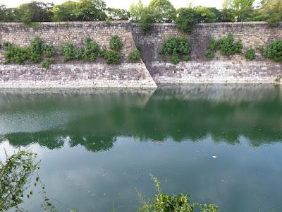 大阪城公園 南外掘