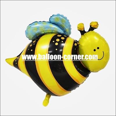 Balon Foil Lebah Mini