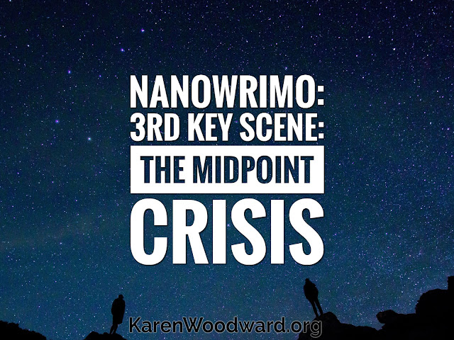(NaNoWriMo Day 3): 3rd Key Scene: The Midpoint Crisis