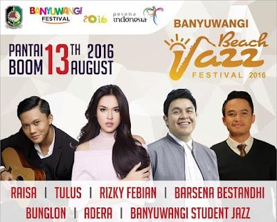 Banyuwangi Beach Jazz Festival 2016.