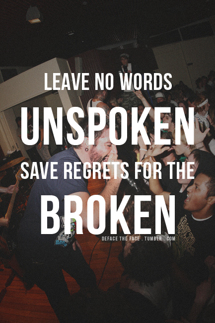 UnekUnek |BLOGSPOT|: A Day to Remember Quotes Collection A Day To Remember Quotes