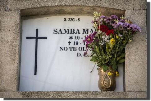 Cementerio, Samba Martine