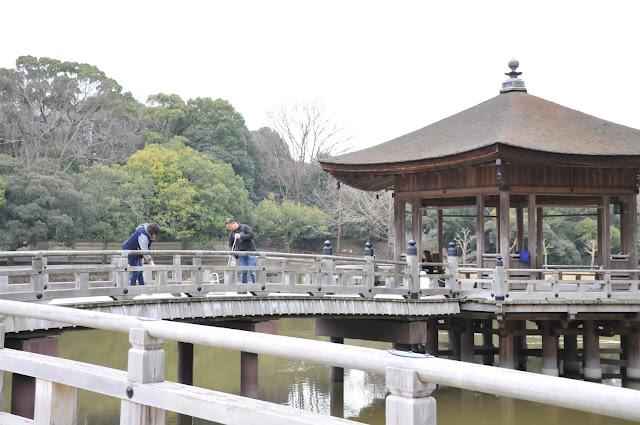 奈良公園浮清掃活動