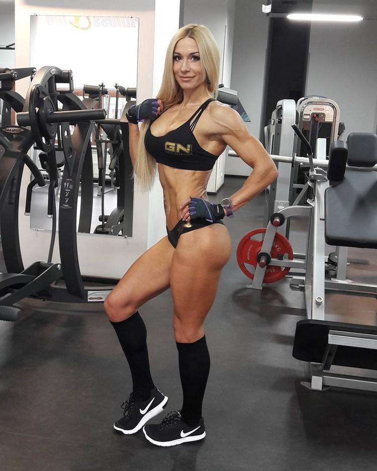 fitness model Olga Kulinych 0004