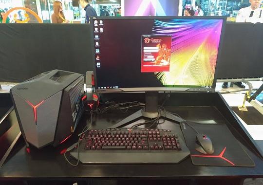 Lenovo IdeaCentre Y710 with Gaming Peripherals