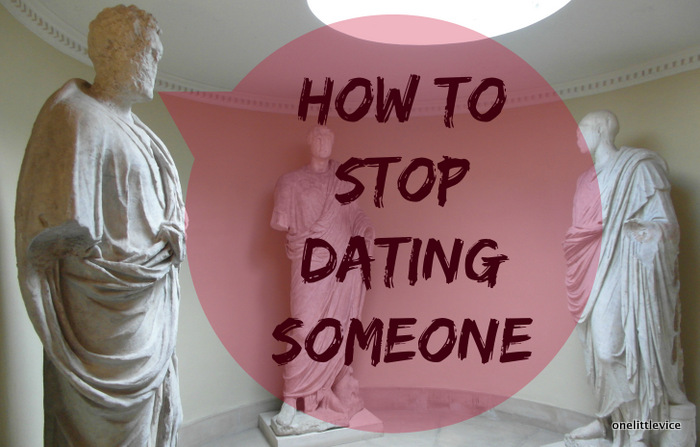 one little vice beauty blog: how to stop seeing someone