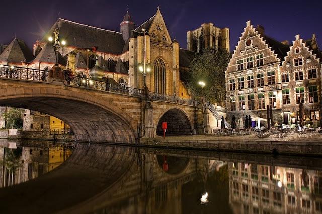 Passeio em Bruges