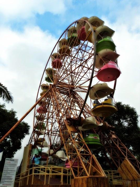 Roda gigante na Triplikland, no Beto Carrero World