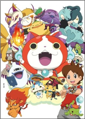 Animax Asia Menayangkan Anime Yo-kai Watch pada 24 April