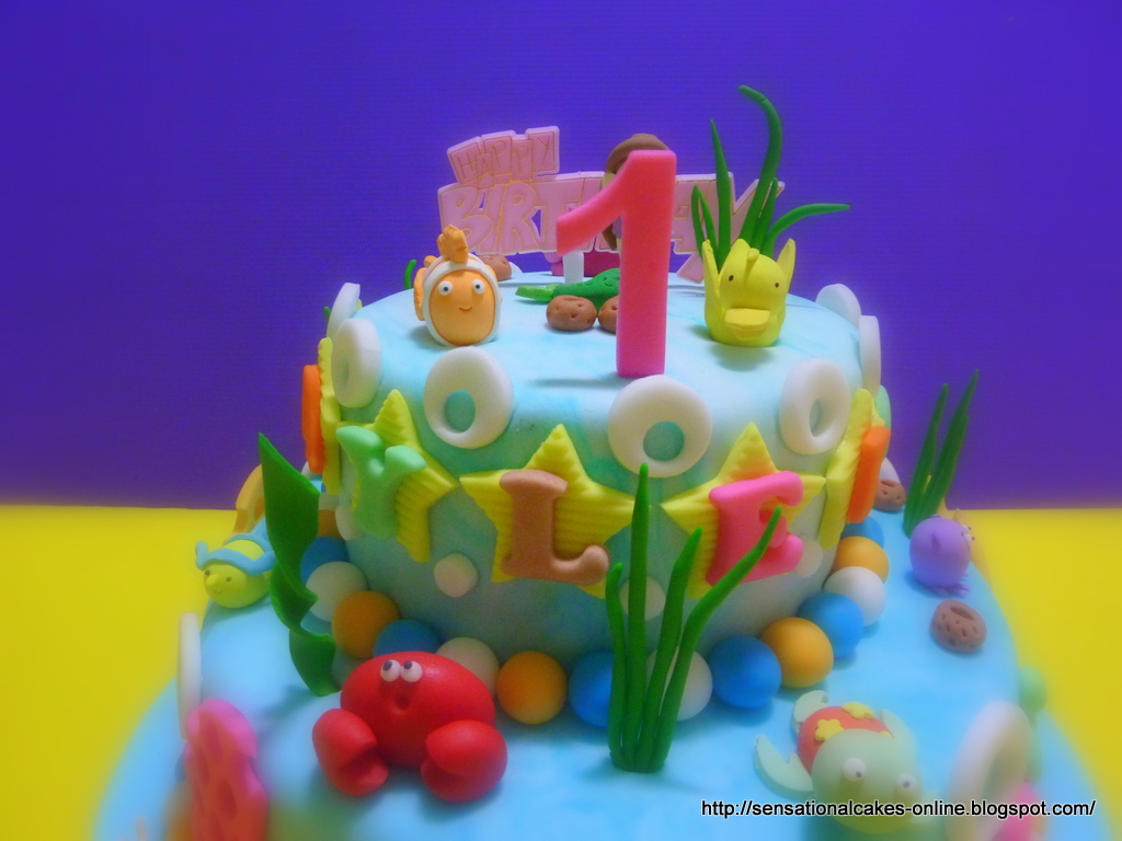 The Sensational Cakes 3d Under Water Theme Cake Singapore