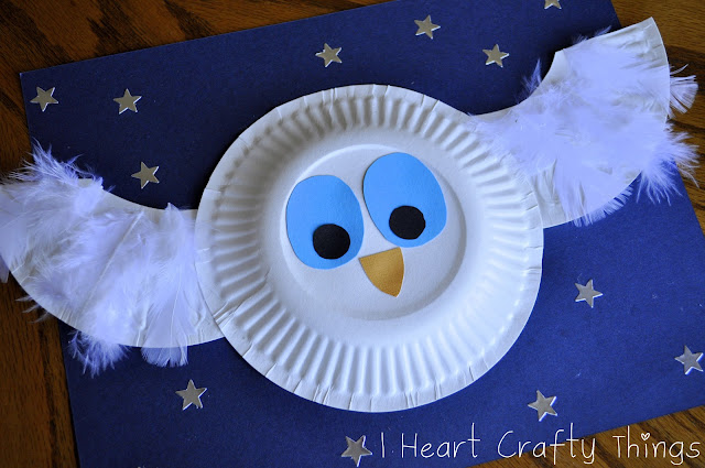 colorful paper plate owl i crafty things the white owl craft 3677