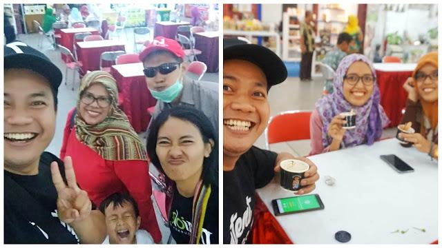 Selfie Jogja Halal Food Expo 2019.