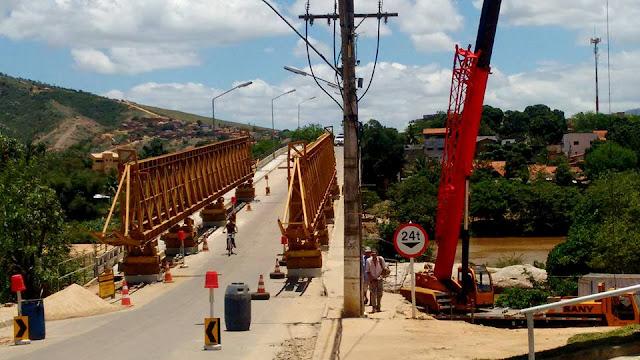 Iniciadas as obras de recuperação e reforço de ponte em Almenara