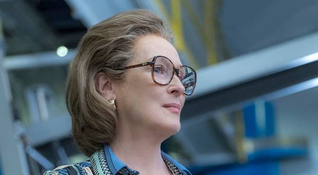 Meryl Streep as Kay Graham in The Post, Directed by Steven Spielberg