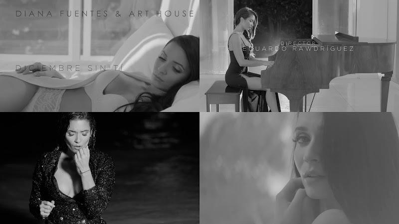 Diana Fuentes & Art House - ¨Diciembre Sin Ti¨ - Videoclip - Dirección: Eduardo Rawdríguez. Portal del Vídeo Clip Cubano
