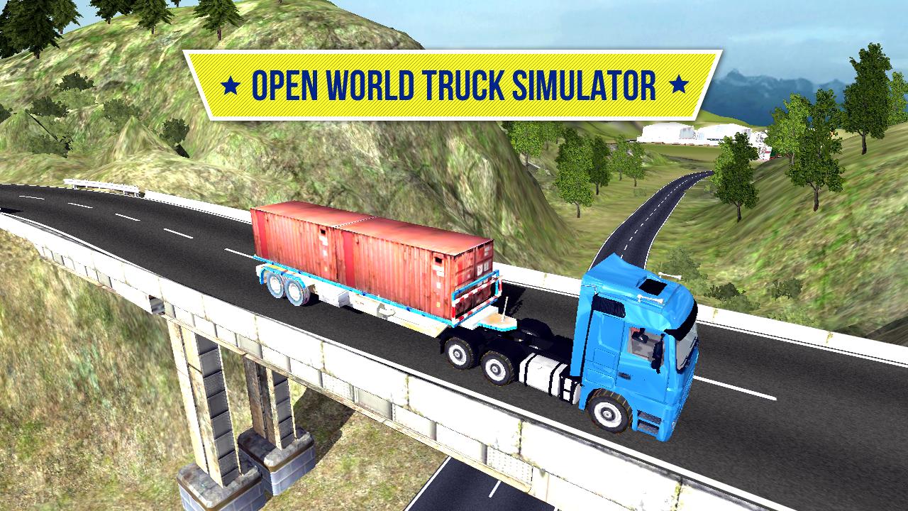 Big Truck Hero Truck Driver MOD APK terbaru
