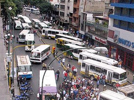 MUD Lucha Social: Paro de transporte se cumple parcialmente en Caracas