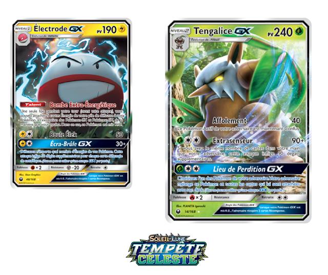 Nouvelle Extension Jcc Pokémon Soleil Et Lune Tempête Céleste
