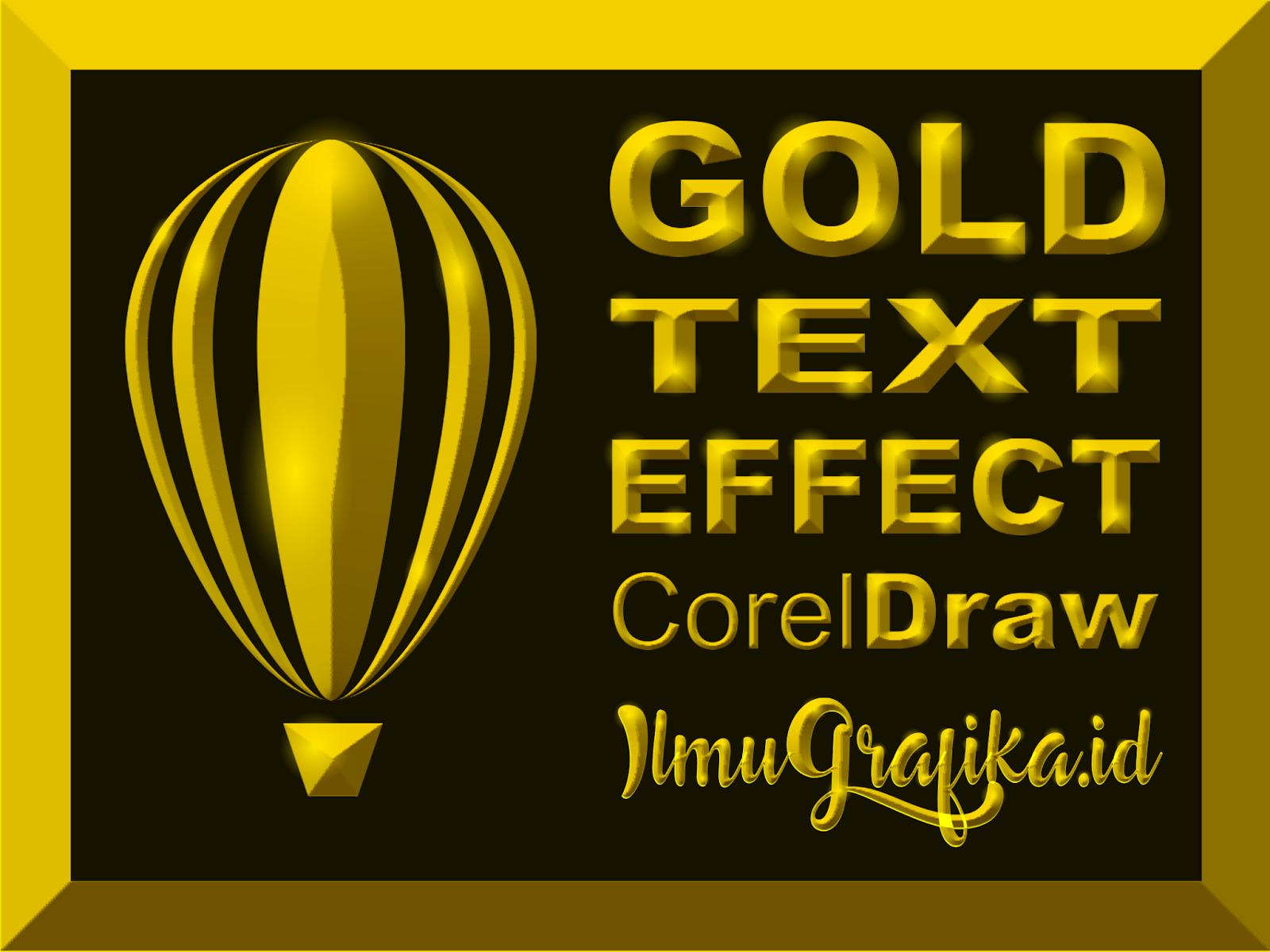 Nah pada postingan kali ini juga masih berhubungan dengan logo namun bedanya pada posting kali ini kita akan memberikan efek pada teksnya