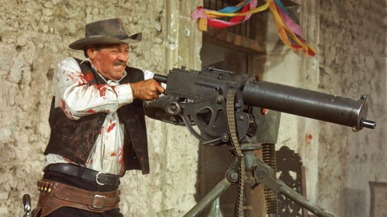 William Holden as Pike Bishop in The Wild Bunch, Directed by Sam Peckinpah