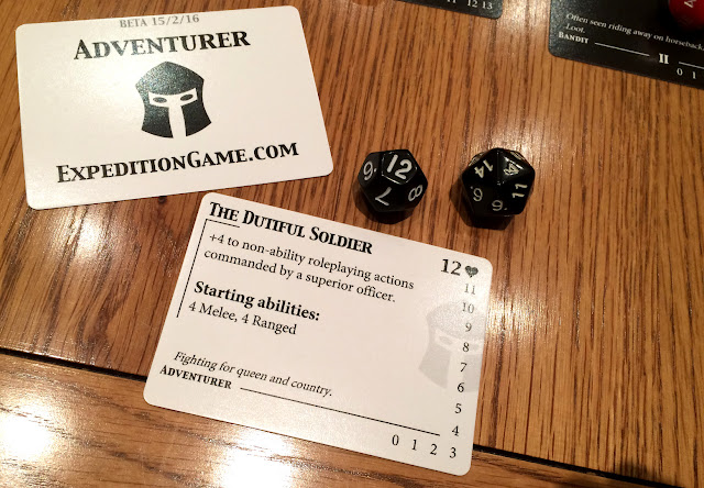 Expedition: The Roleplaying Card Game Character
