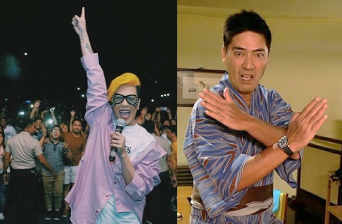 Vice Ganda and Vic Sotto