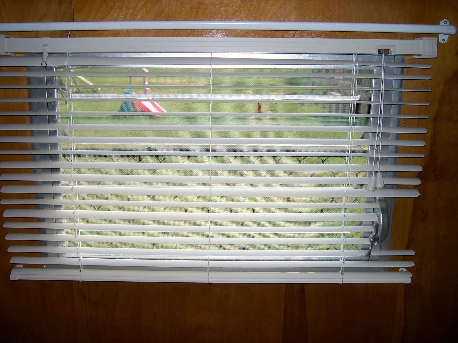 1962 Shasta Compact Trailer Blinds Put On The Two Side