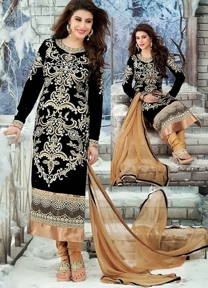 Bollywood Velvet Long shirt designs