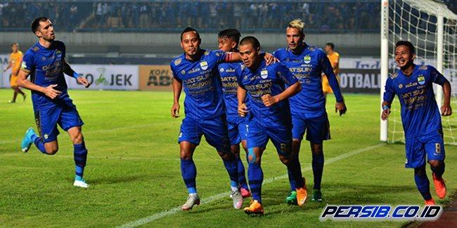 Hadapi Sriwijaya FC, Persib Bandung Bawa 20 Pemain ke Palembang