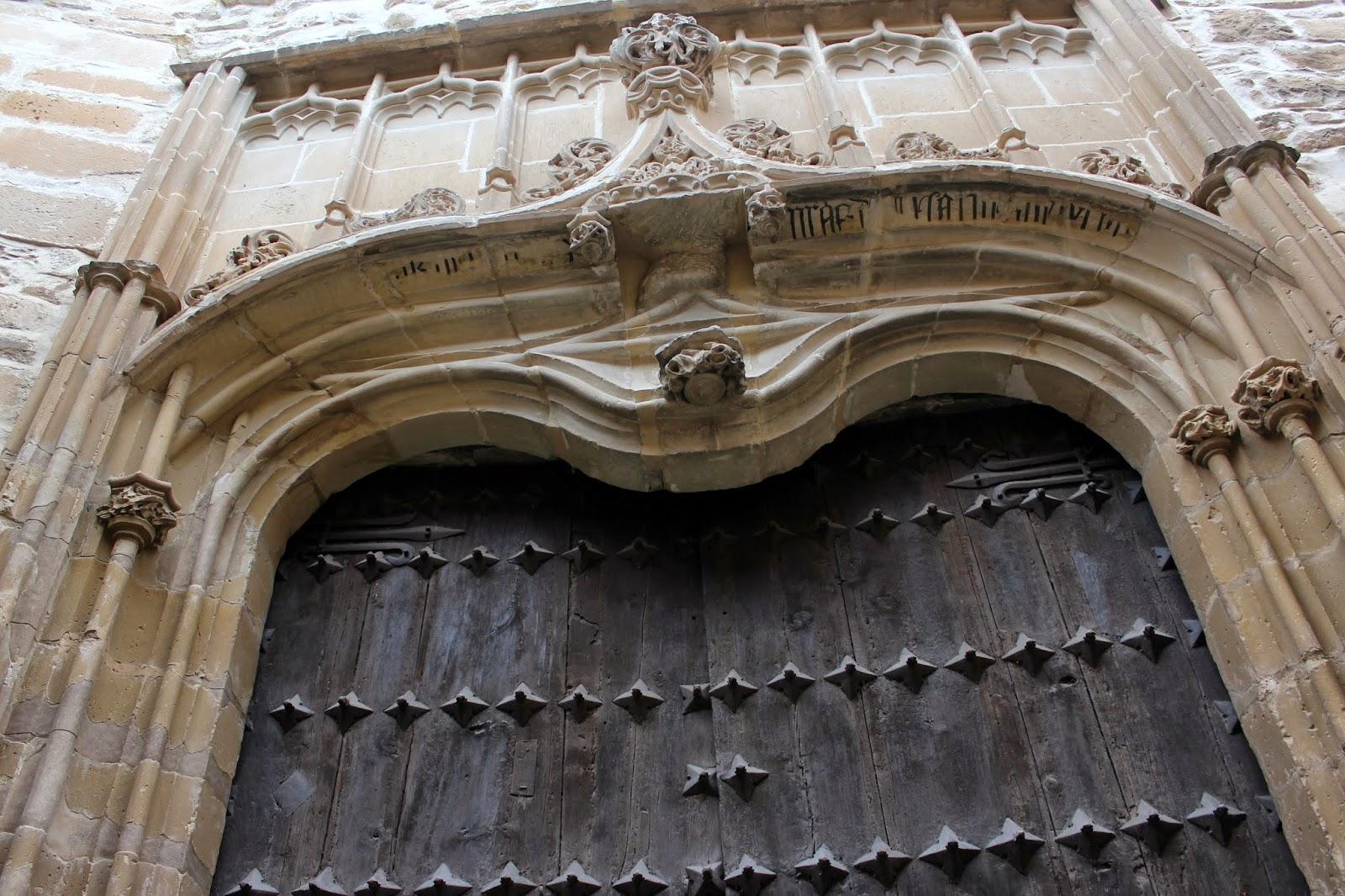Puerta del Perdón de la catedral de Baeza